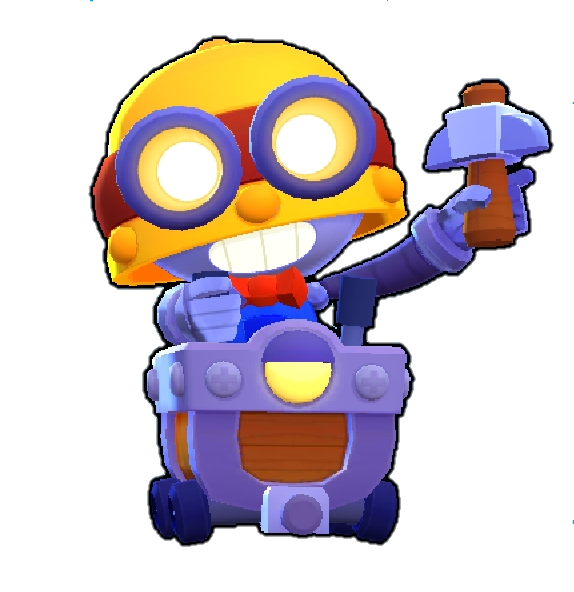 carl brawl stars png skin default main