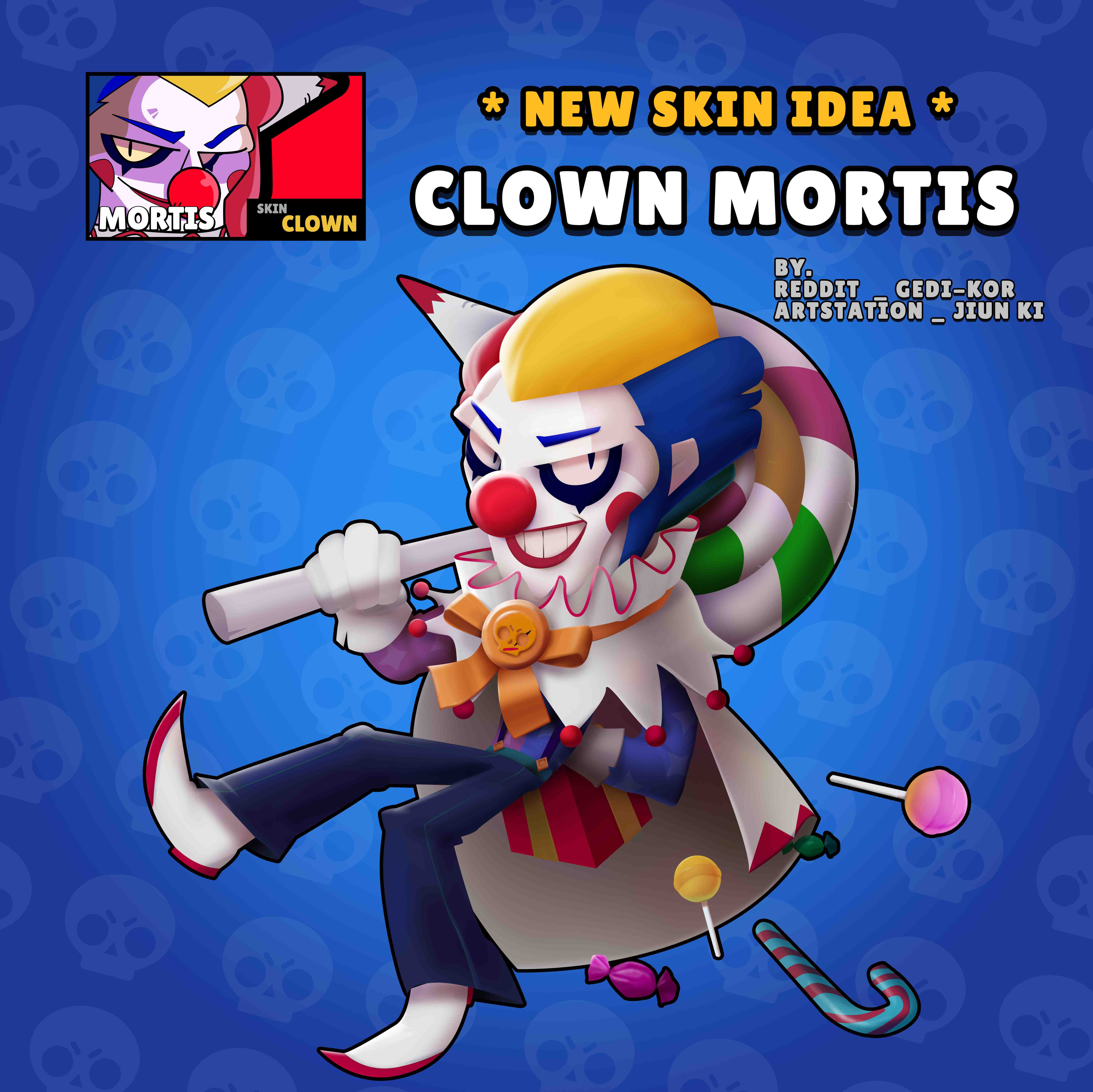 clown mortis skin idea