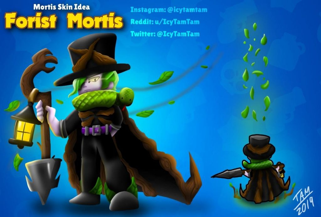mortis skin idea brawl stars
