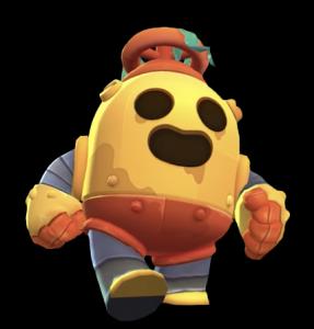 robo spike robot skin brawl stars png