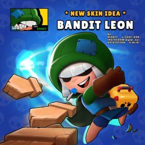 leon skin fanart fandom bandit gedi-kor