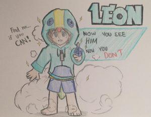 leon brawl stars anime 2 dibujo HD 4k