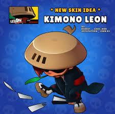 leon skin fanart fandom kimono gedi-kor