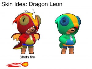 leon skin fanart fandom dragon