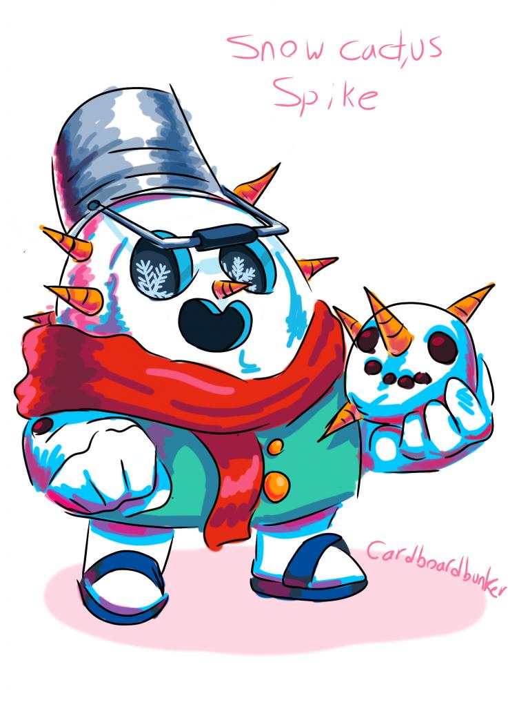 spike snowman skin idea