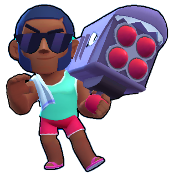 beach brock playero png brawl stars skin aspecto