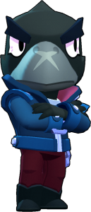 new Crow Brawl Stars png remodel