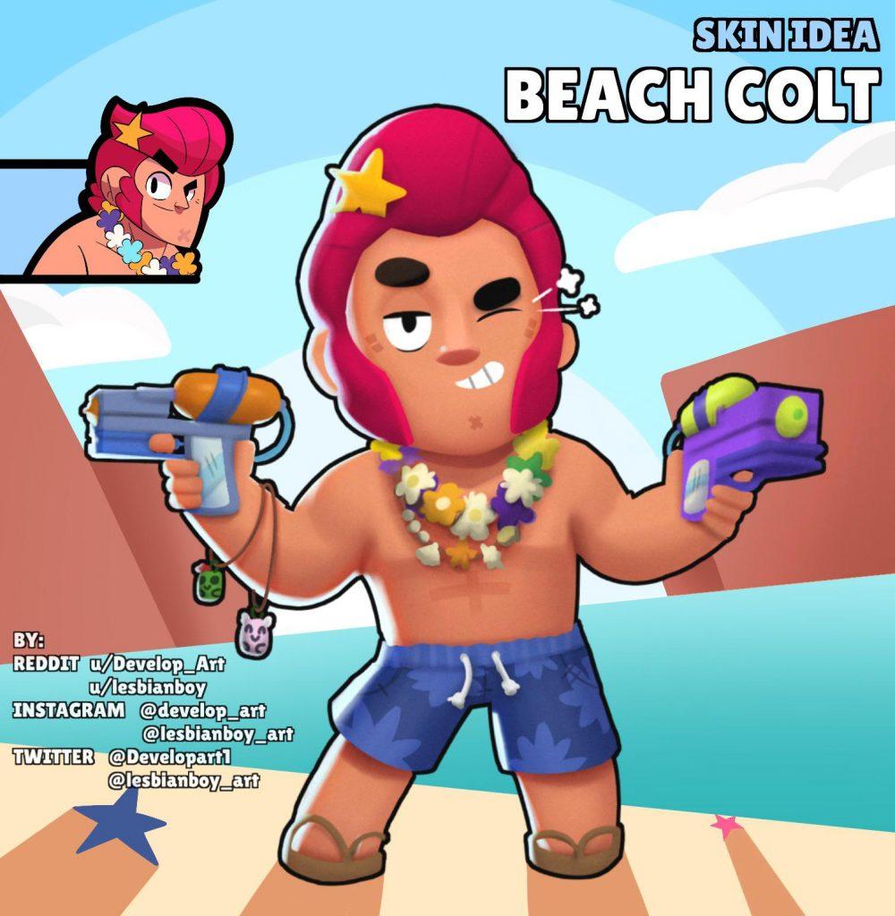 beach colt skin idea fan art png gedi kor
