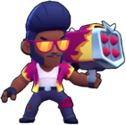 hot rod brock tuneador png brawl stars skin aspecto
