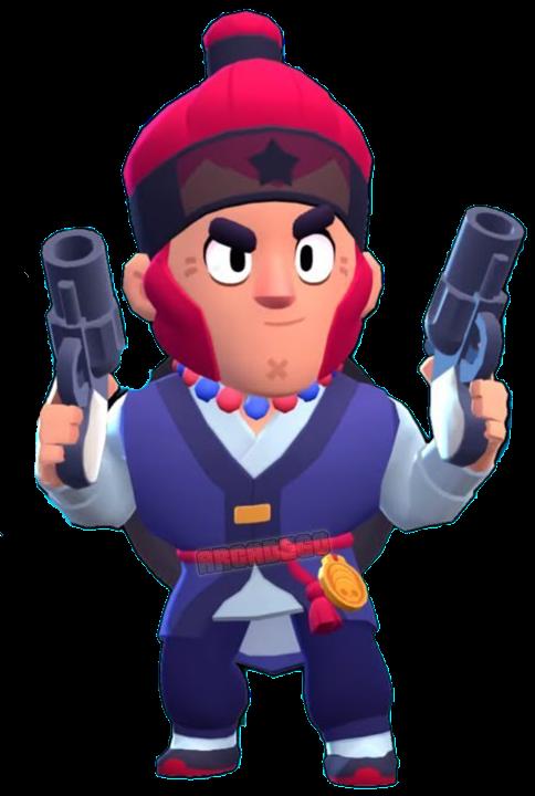 royal agent colt guarda imperial png brawl stars skin aspecto personaje