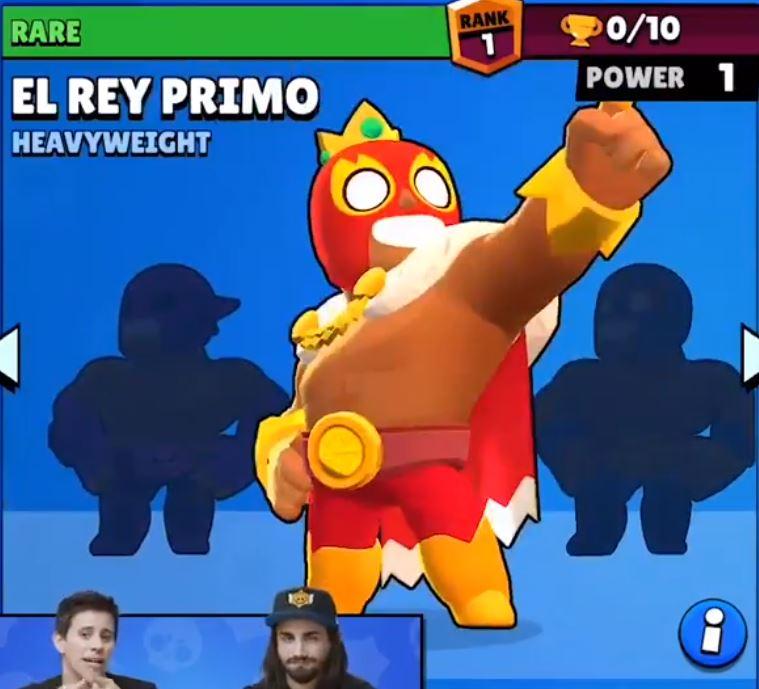 el rey primo remodel new design nuevo diseño brawl stars