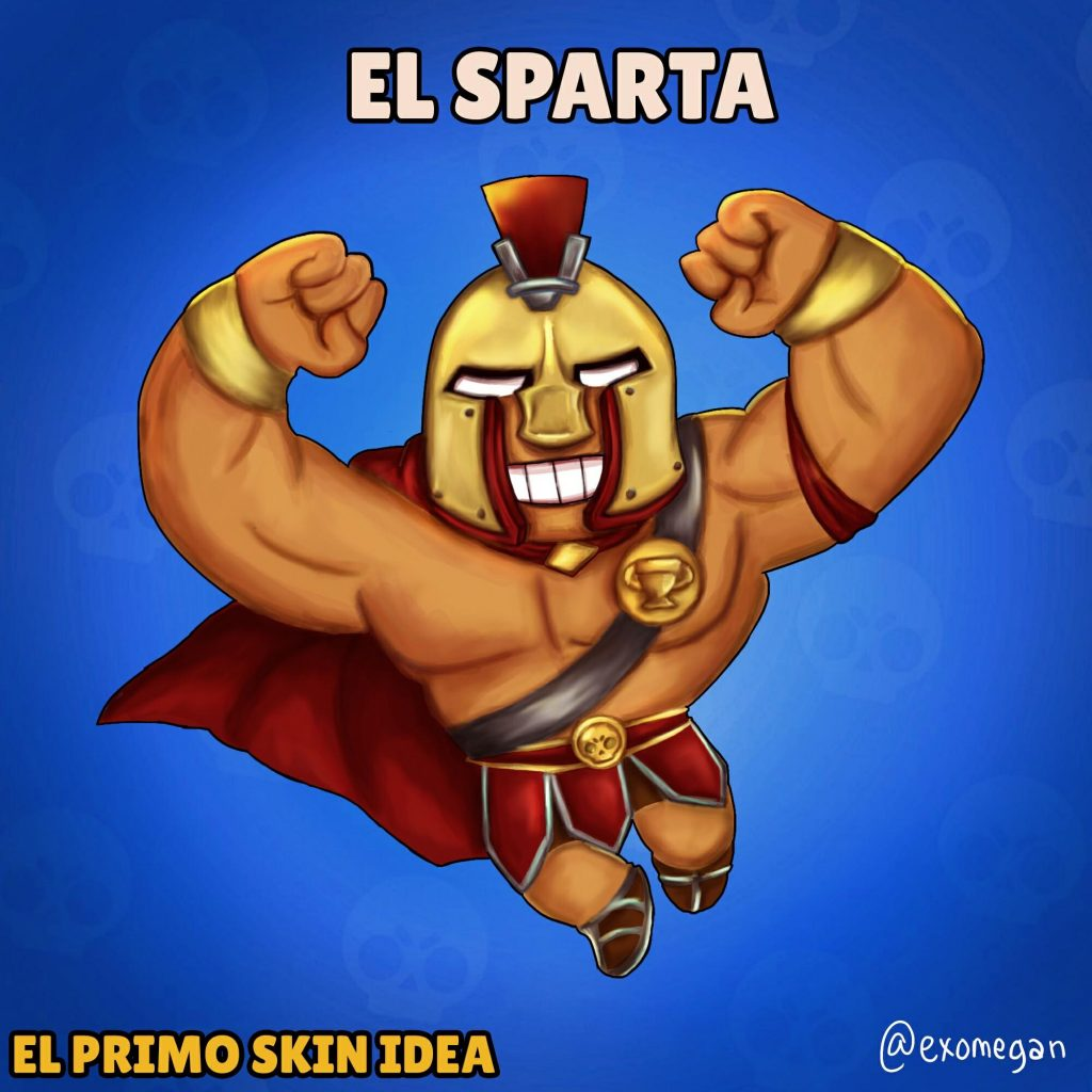 el primo skin idea fan art dibujo draw