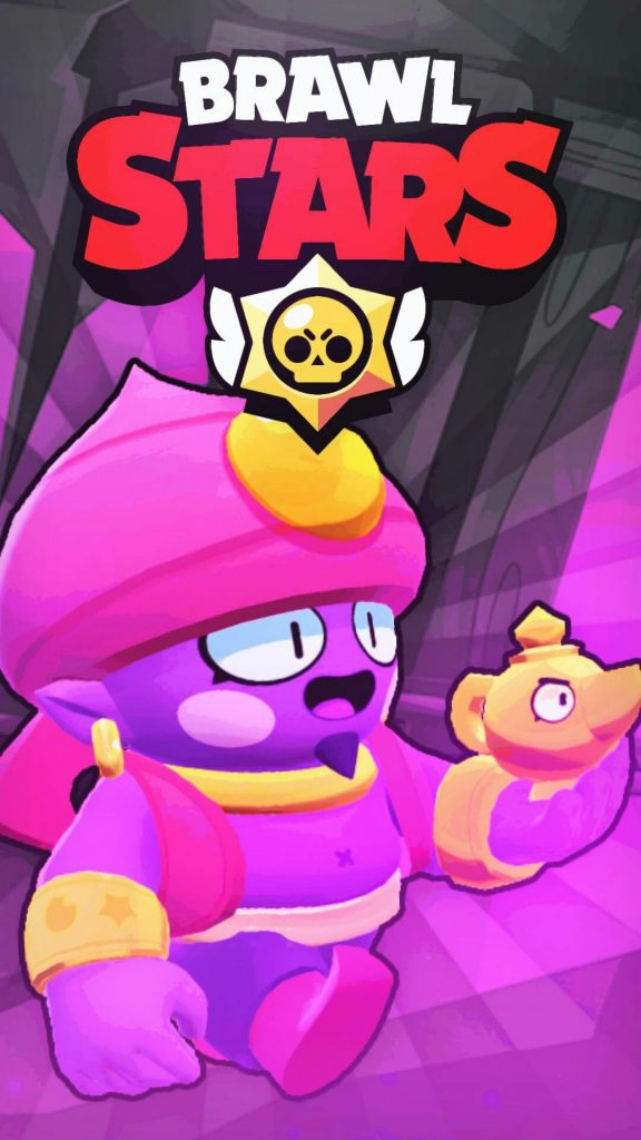 Genio Brawl stars fondo de pantalla wallpaper android movil Full HD