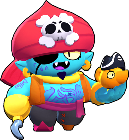 pirate gene genio pirata png skin