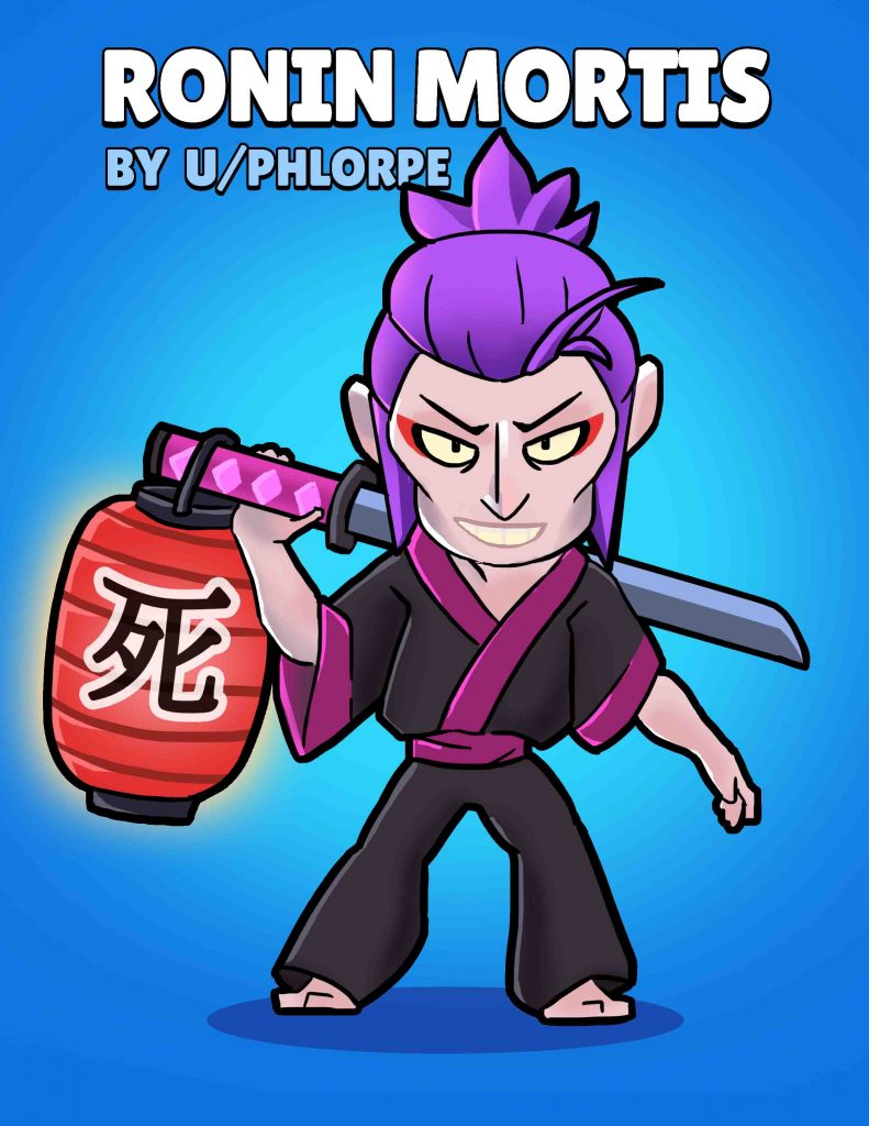 ronin mortis skin idea brawl stars