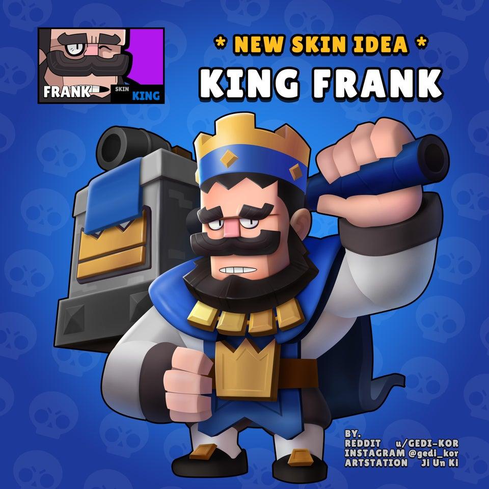 king frank skin idea gedi kor