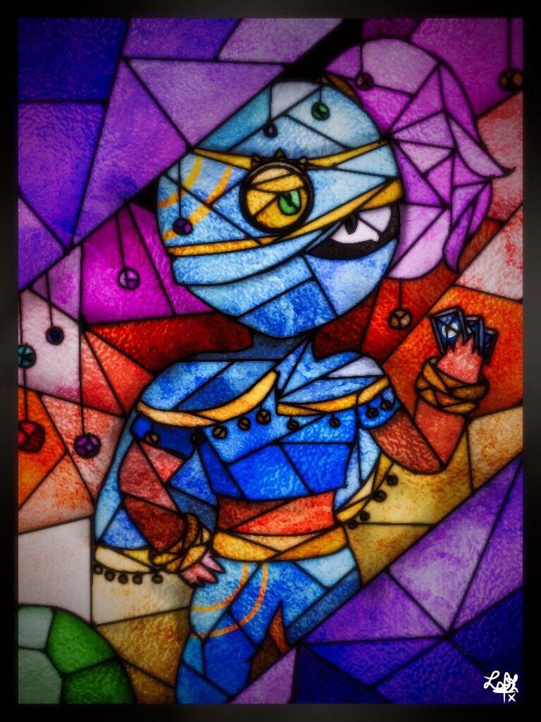 tara fanart azul brawl stars