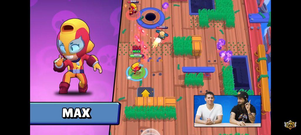 Max brawl stars main attack ataque