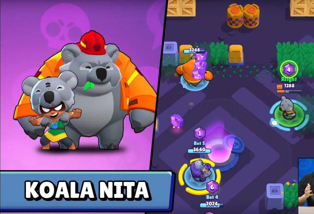 nita koala skin brawl stars aspecto