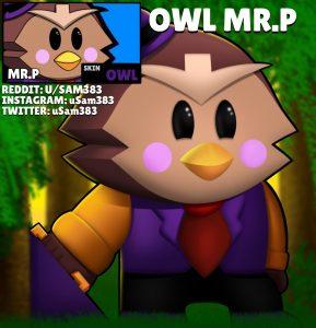 mr.p skin idea owl