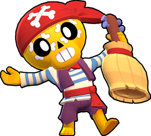 pirate poco pirata skin aspecto brawl stars