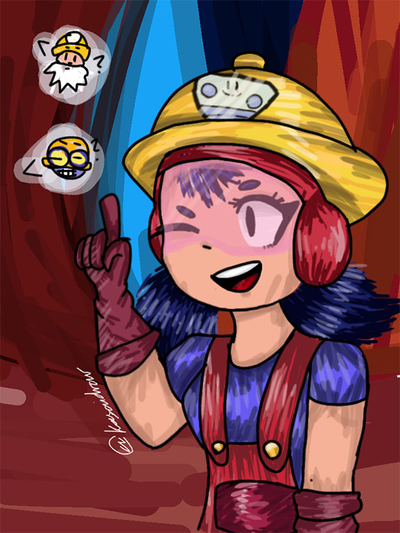 jacky brawl stars fan draw