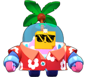 tropical sprout skin aspecto png brawl stars