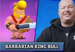 barbarian king rey barbaro bull skin aspecto brawl stars