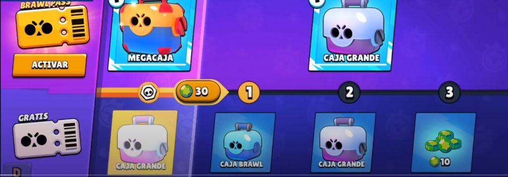 brawl pass recompensas primeros niveles