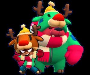 abrigadita nita navideña skin brawl stars
