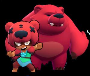 nita oso brawl stars brawler personaje