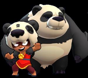 panda nita skin brawk stars