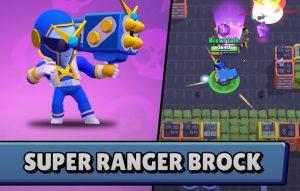 super ranger brock aspecto nueva skin brawl