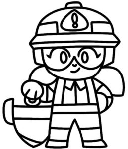 coloring constructor jacky obrera para colorear